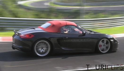 Testet Porsche 4-Zylinder-Motoren in Cayman und Boxster?