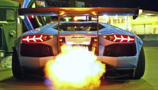 Lamborghini Aventador Liberty Walk Performance