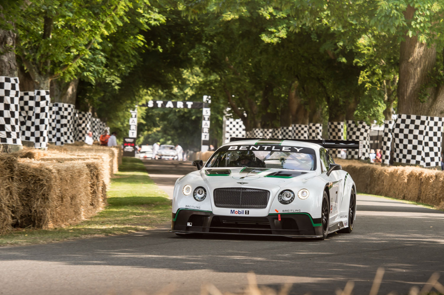 Bentley Continental GT3 beim Goodwood Festival of Speed 2014 (Foto: Bentley)