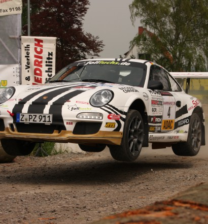 Ruben Zeltner, Porsche 911 GT3 - Hessen Rallye Vogelsberg 2014 (Foto: Robin Laudemann)