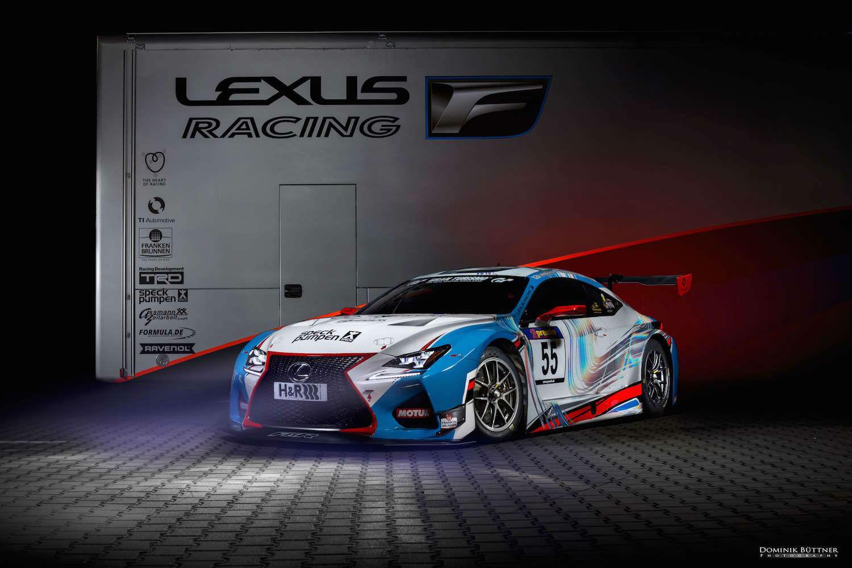 Lexus RC F GT3 von Farnbacher Racing (Foto: Lexus)