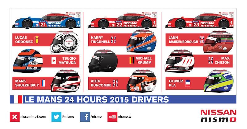 Die Nissan GT-R LM NISMO für Le Mans 2015 (Grafik: Nissan)