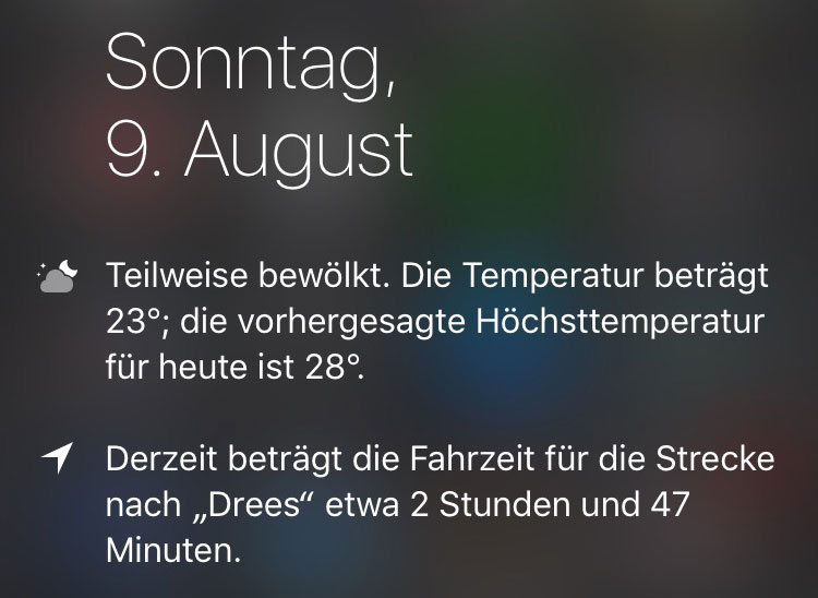 Wenn das Smartphone dir sagt, dass du als nächstes nach Drees am Nürburgring fährst.