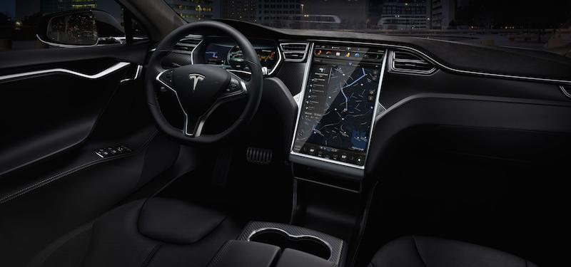 Tesla Model S Innenraum (Foto: Tesla Motors)