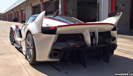 Ferrari FXX K Onboard Imola