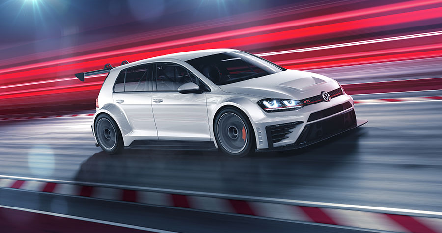 Volkswagen Golf GTI TCR (Foto: VW Motorsport)