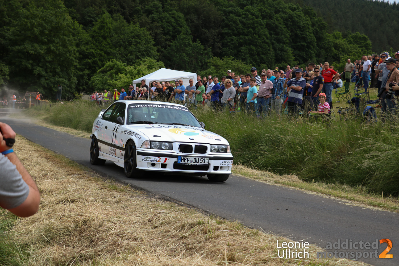 Uwe Wagner/Robin Laudemann, Rallye Rund um den Alheimer 2016 (Foto: Leonie Ullrich)