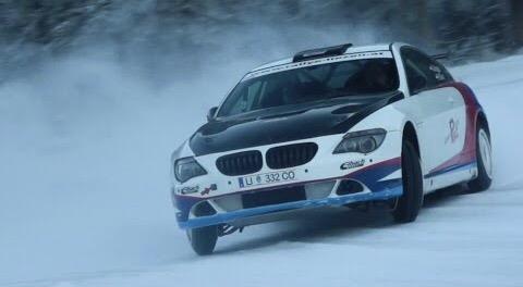Videotipp: BMW 650i Rallycar mit Schwedenspikes