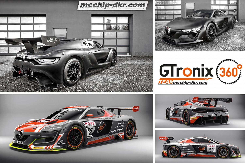 GTronix mcchip-dkr Renault R.S. 01 GT3 (Grafik: mcchip-dkr)