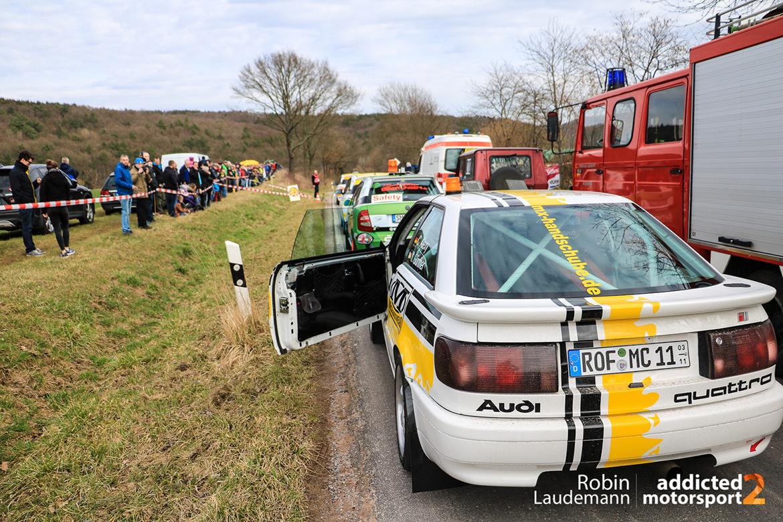Rundkurs Weißenborn - Werra Meißner Rallye 2017