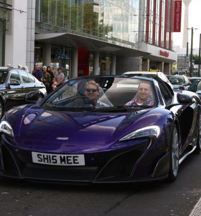 Shmees violetter McLaren 675 LT (Foto: R_Simmerman)