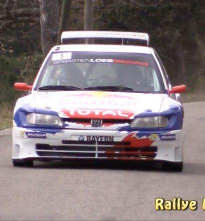 Sebastien Loeb im Peugeot 306 Maxi (Screenshot Youtube/Rallye Luminy13)