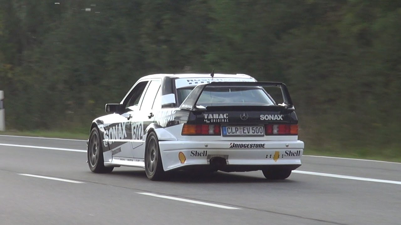 Mercedes 190E 2.5 EVO II (Screenshot Youtube/Gumbal)