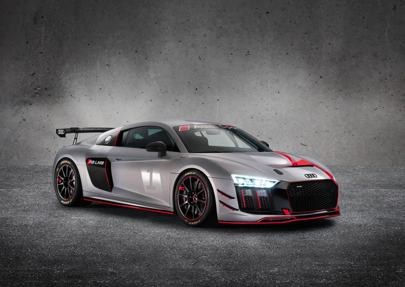 Audi R8 LMS GT4 (Foto: Audi/Ferdi Kräling Motorsport-Bild GmbH)