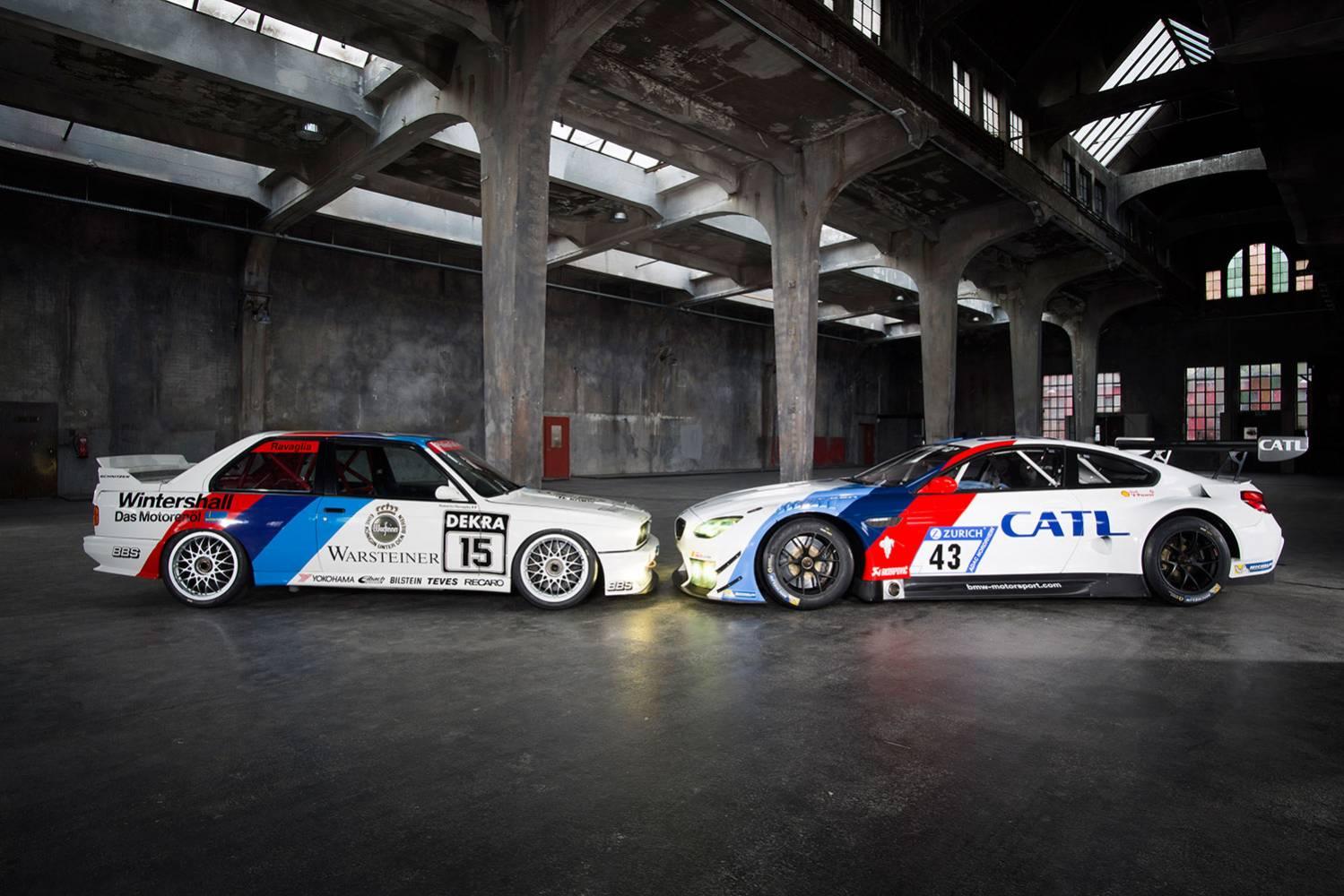 N24h Schnitzer Bmw M6 Gt3 Im Historischen Design Addicted To Motorsport