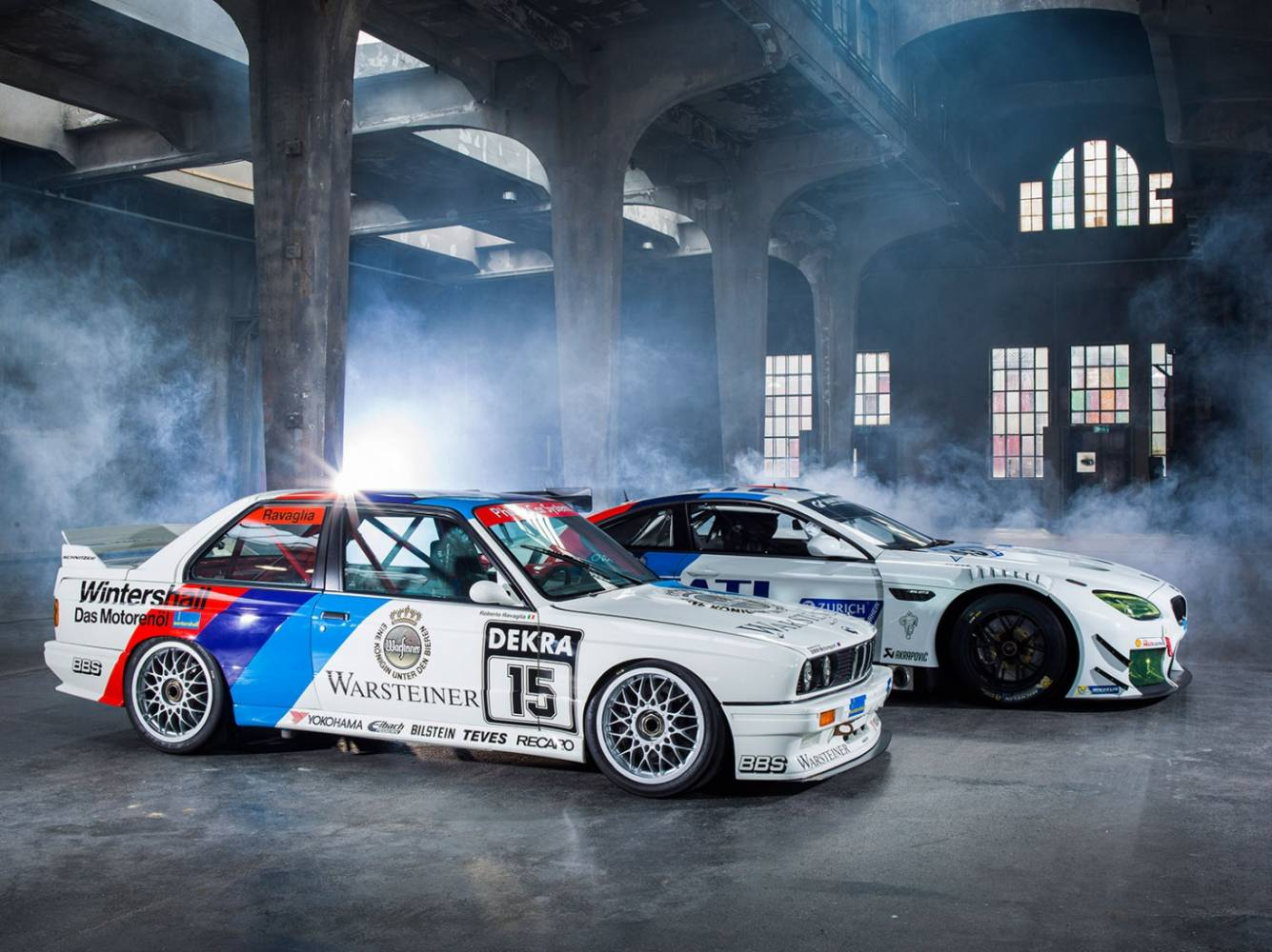 Schnitzer-BMW E30 M3 & BMW M6 GT3 (Foto: BMW)