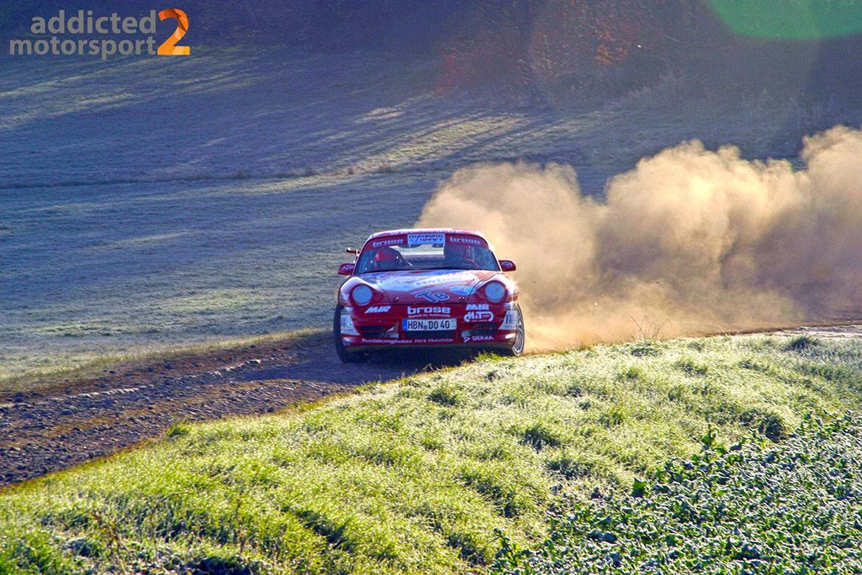 Olaf Dobberkau - Porsche 996 GT3 - Rallye Vogelsberg 2010 (Foto: Robin Laudemann)