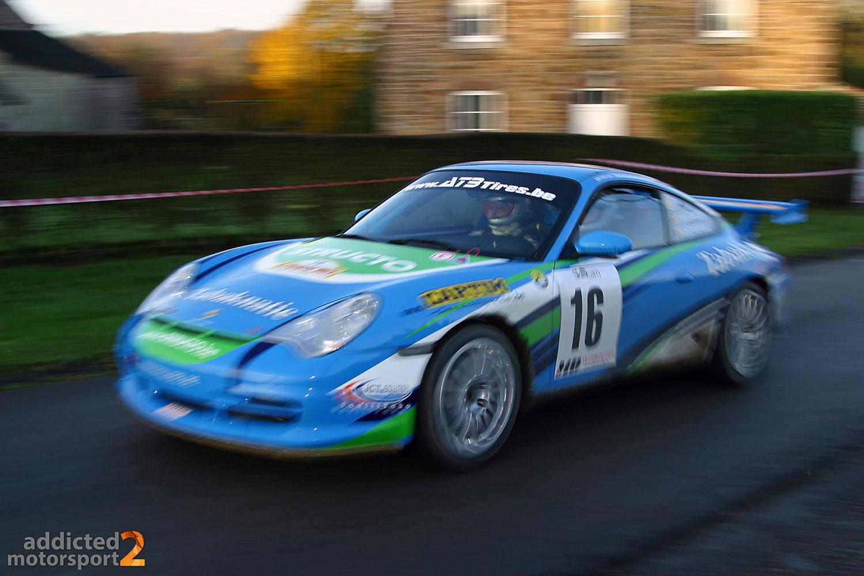Porsche 996 GT3 - Rallye du Condroz 2008 (Foto: Robin Laudemann)