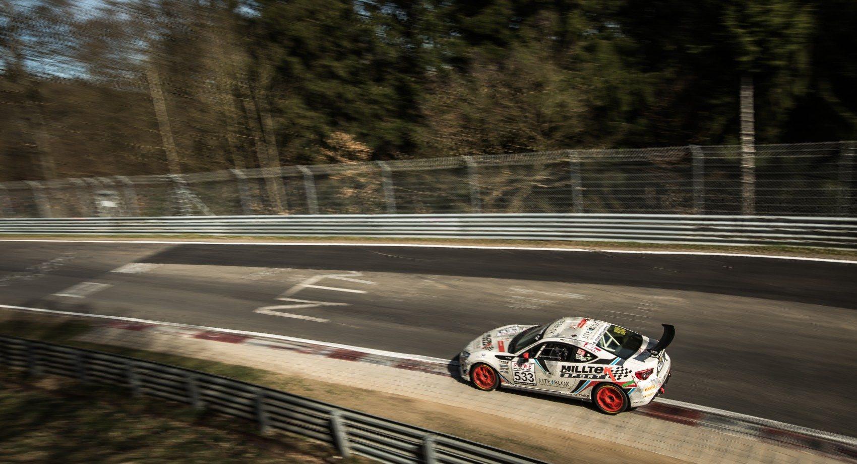 Toyota GT86 Cup vom Team Milltek Racing - 24h Nürburgring 2017 (Foto: Toyota/Lexus)