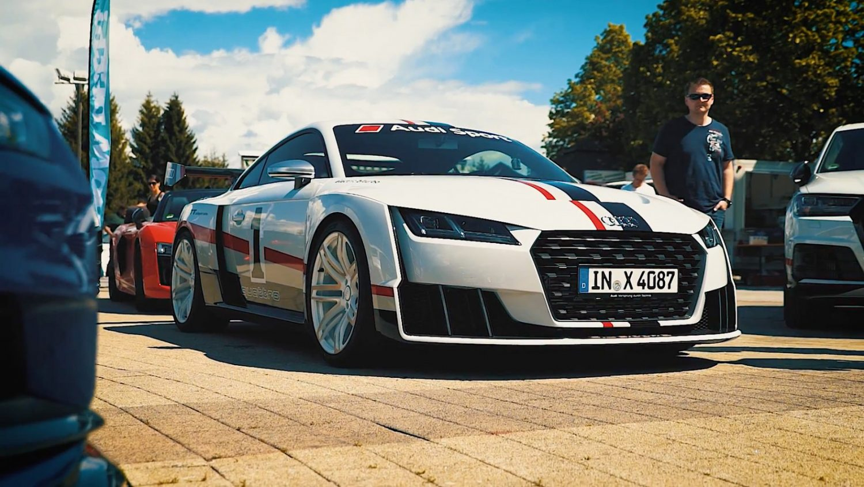 Wörthersee 2k17 Jp Führt Den Audi Tt Clubsport Turbo Aus