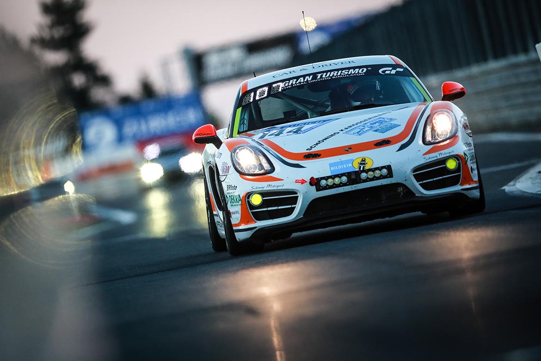 PROsport Performance: Schöning/Böckmann/Nett/Muytjens - Porsche Cayman (Foto: Porsche)