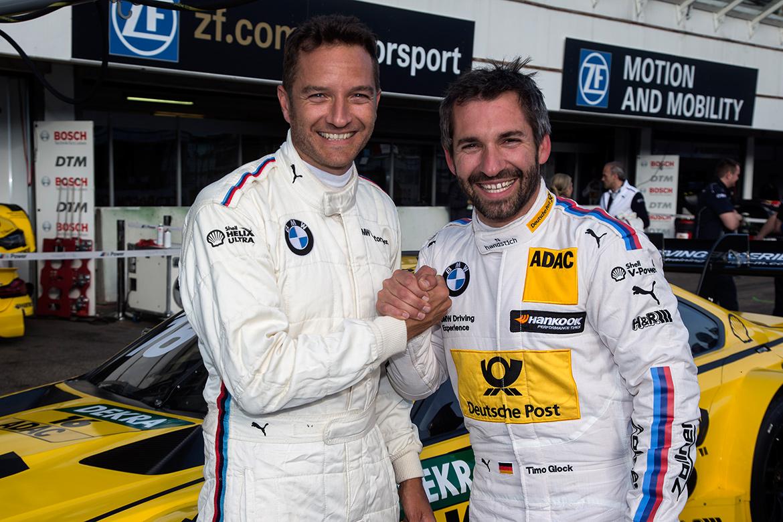 Timo Glock & Timo Scheider im BMW M4 DTM (Foto: BMW)