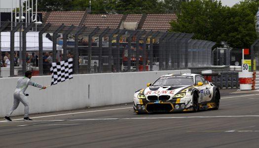 N24h 2017: Rang 2 für Rowe-BMW nach dramatischem Finale