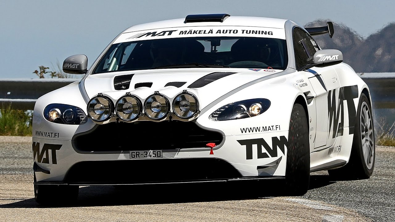 Aston Martin Vantage GT4 (Screenshot Youtube/Checkpoint Rallye)