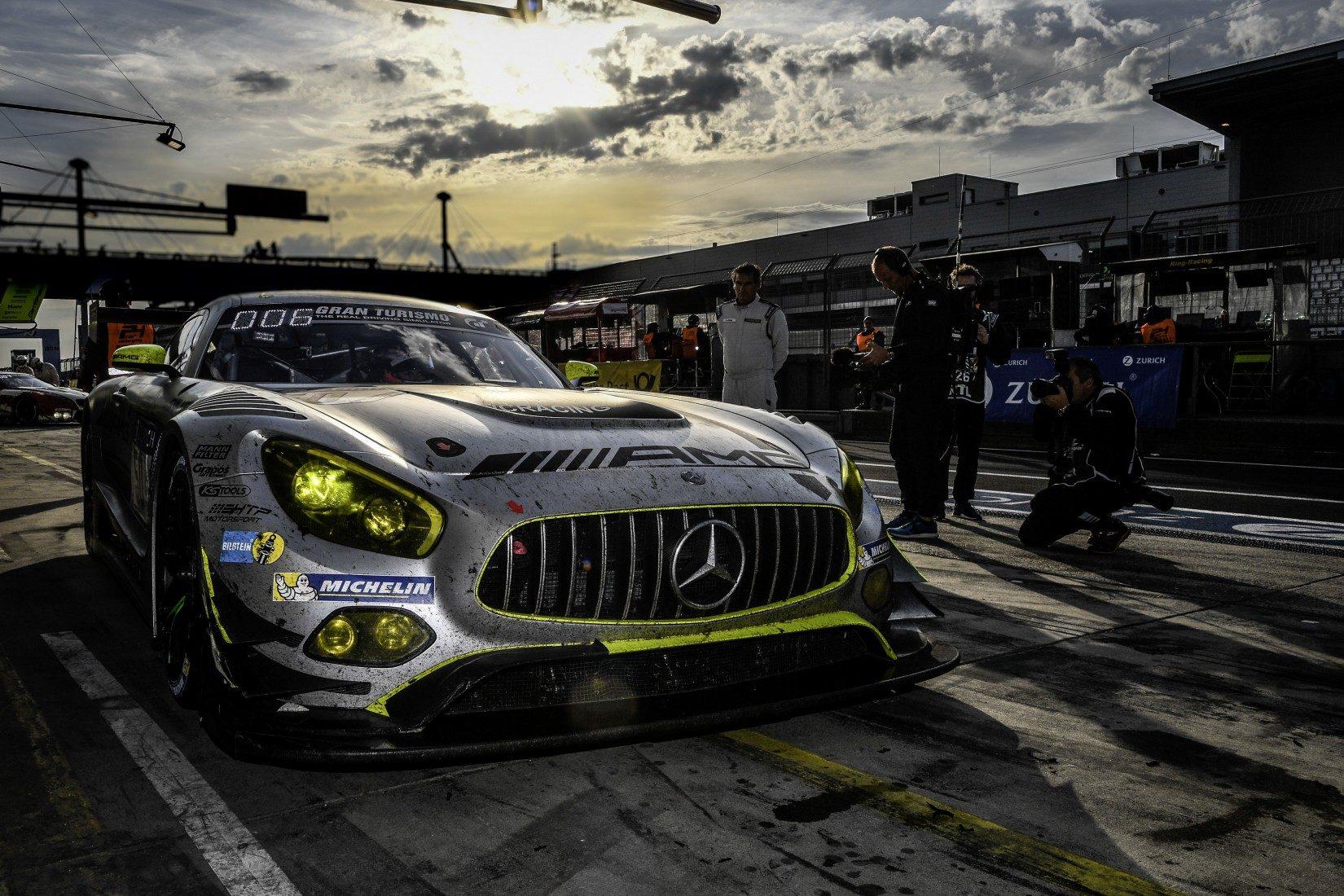 Mercedes-AMG Team HTP Motorsport #50 - 24h-Rennen 2017 (Foto: Mercedes)