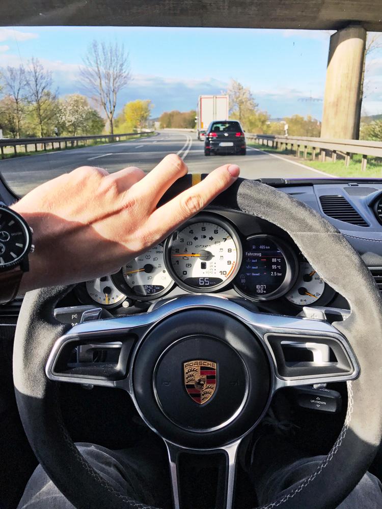 Cruisen im Porsche 991 GT3 RS