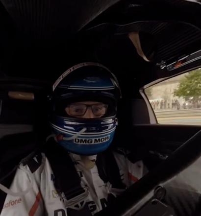 Marc Lieb im Porsche 919 Hybrid - Le Mans 2017 (Screenshot Youtube/Porsche)