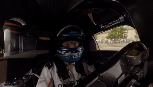 Le Mans aus Fahrerperspektive (360 Grad)