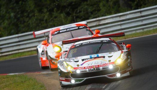 VLN3: Erster Sieg für den Wochenspiegel-Ferrari