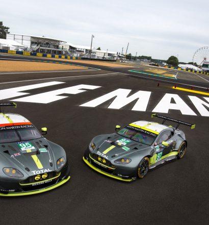 Aston Martin V8 Vantage GTE - Le Mans 2017 (Foto: Hersteller)