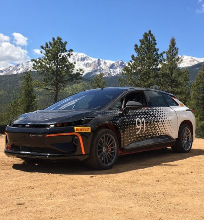 Faraday Future FF 91 Pikes Peak 2017 (Foto: Faraday Future)