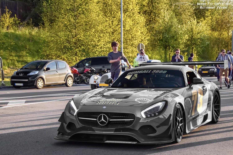 Team Galag's Mercedes AMG GT (Foto: Alexandre Prévot, CC BY-SA 2.0)