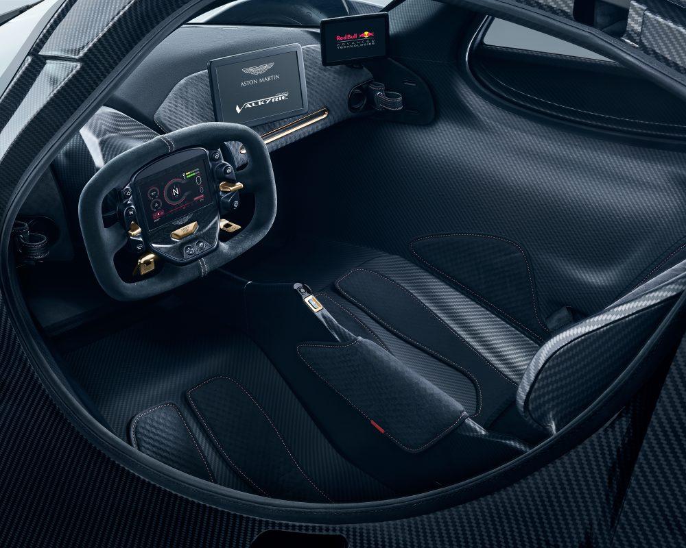 Innenraum des Aston Martin Valkyrie (Foto: Hersteller)