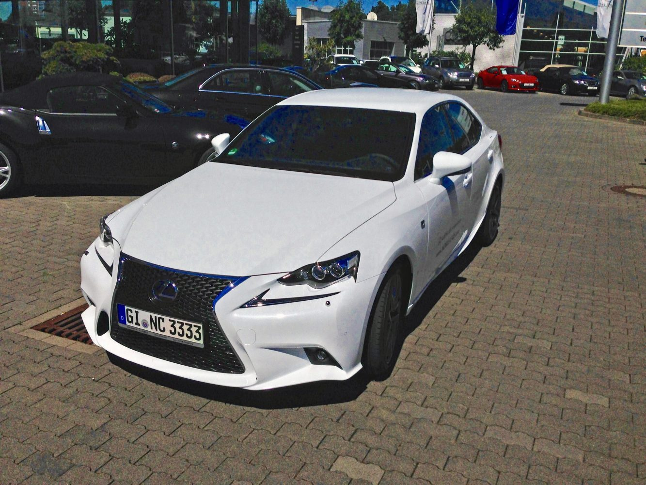 Lexus IS 300h mit F Sport Paket