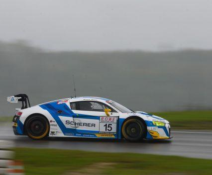 Phoenix Racing kam auf Rang 3 ins Ziel (Foto: Jan Brucke/VLN)