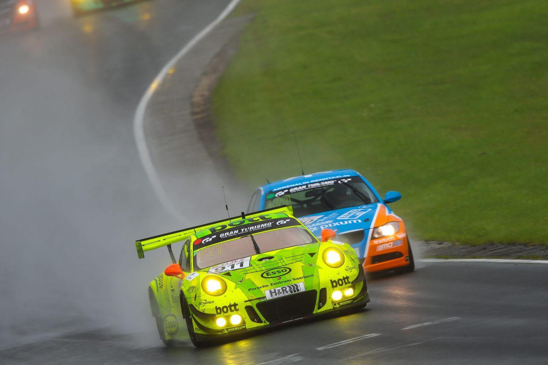 Auf dem Weg zum Sieg: Der Manthey-Porsche 911 GT3 R (Foto: Jan Brucke/VLN)