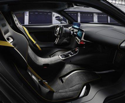 Interieur des Mercedes-AMG Project ONE (Foto: Mercedes)