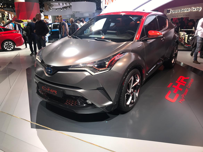 Toyota C-HR Hy-Power - schick, aber ohne Leistungsangabe