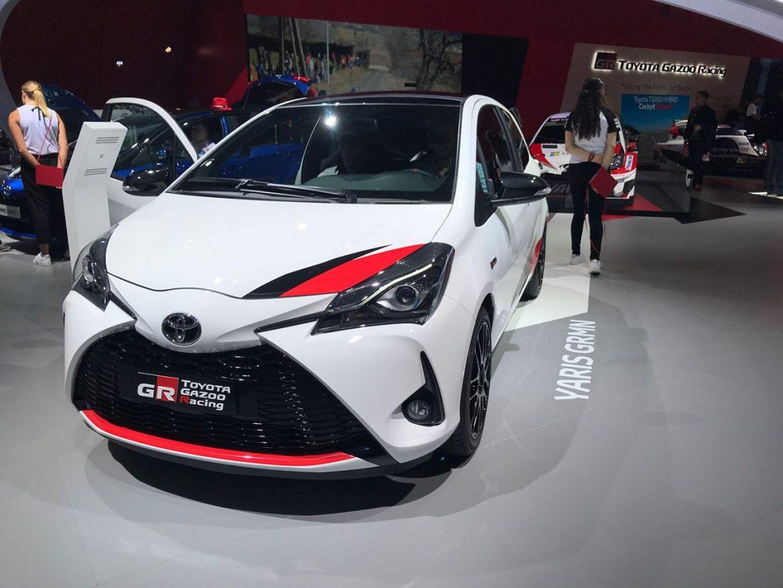 Toyota Yaris GRMN auf der IAA 2017