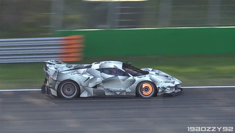 Ferrari FXX K Evoluzione (Screenshot YouTube/19BOZZY92)
