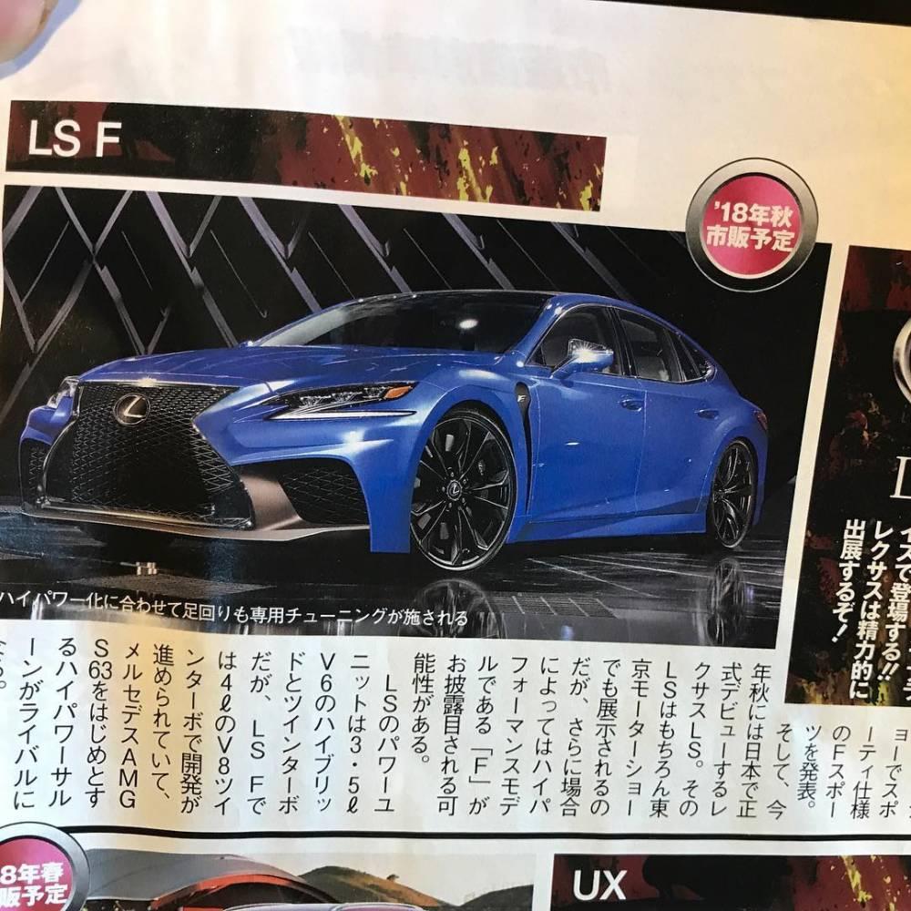 Lexus LS F (Foto: Instagram/jzsinternational)