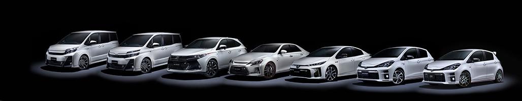 Die verschiedenen GR-Modelle (Foto: Toyota Gazoo Racing)