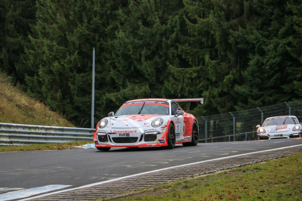 Porsche 911 GT3 Cup - VLN8 2017 (Foto: Robin Laudemann)