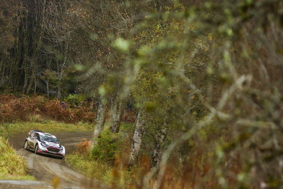 Elfyn Evans - Ford Fiesta WRC - Wales Rally GB (Foto: @World/Red Bull Content Pool)