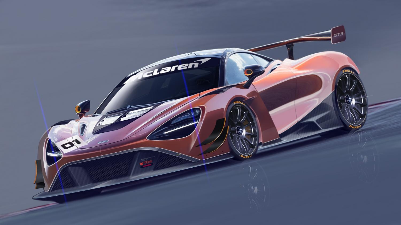 2018 McLaren 720S GT3 (Grafik: McLaren)