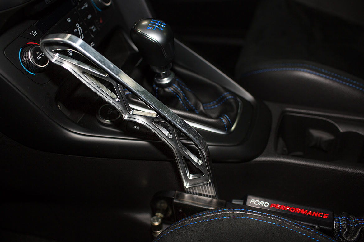Ford Performance Drift Stick für den Ford Focus RS Mk3 (Foto: Ford)